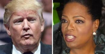 Here's What Trump Just Told Lawmakers About Oprah's Possible Presidential Bid