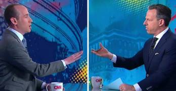 After Heated Exchange On Air, What Happened Off-Camera Between Tapper And Miller Says It All