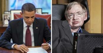 Everybody Needs To See Obama's Response To News Of Stephen Hawking's Passing