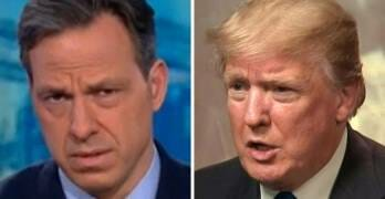 Everyone Needs To See Jake Tapper's Perfect Response To Trump And Biden's 'Fight'