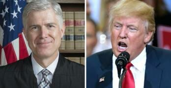 Trump's Supreme Court Pick Gorsuch Crosses Him in Most Humiliating Way