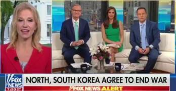Kellyanne Conway Slips Up On Live TV – Reveals Trump's Plan For Fox News
