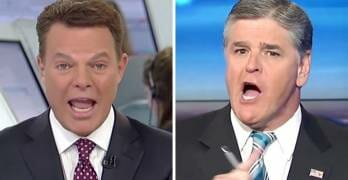 WATCH: Shep Smith Took the Gloves Off Against Fellow Fox News Host Sean Hannity