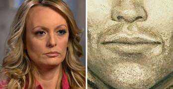 Stormy Daniels Releases Sketch of Man She Claims Threatened Her